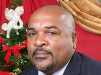 Minister of Agriculture and Fisheries, Hon. Reginald Austrie